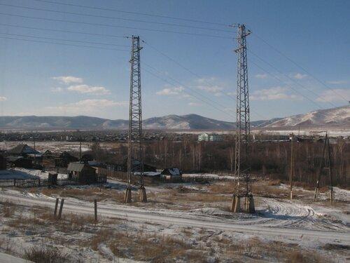 на подходе к станции Зилово