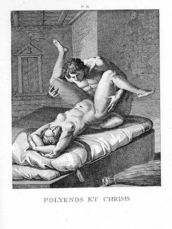 Ретро эротика гравюры рисунки