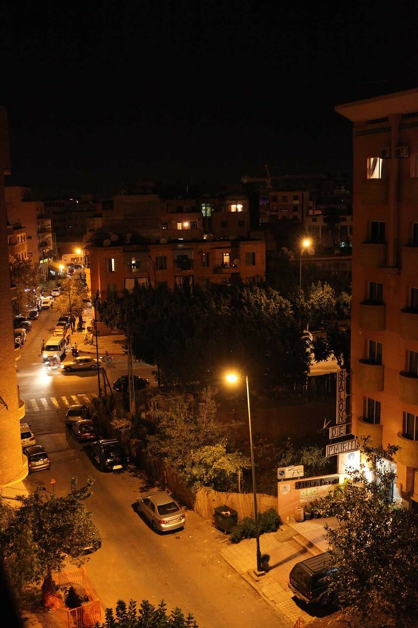 Марракеш - вид с крыши гостиницы