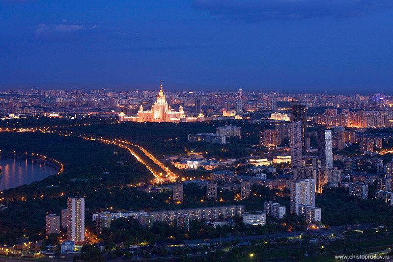 Россия. Город Столиц, вечерние и ночные виды (фото)