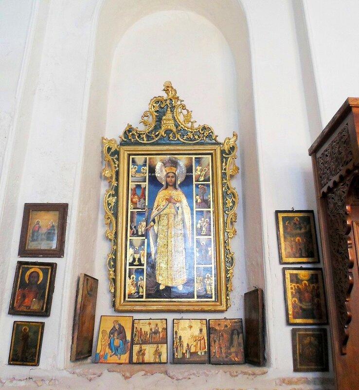 Алтарь  святой  Екатерины