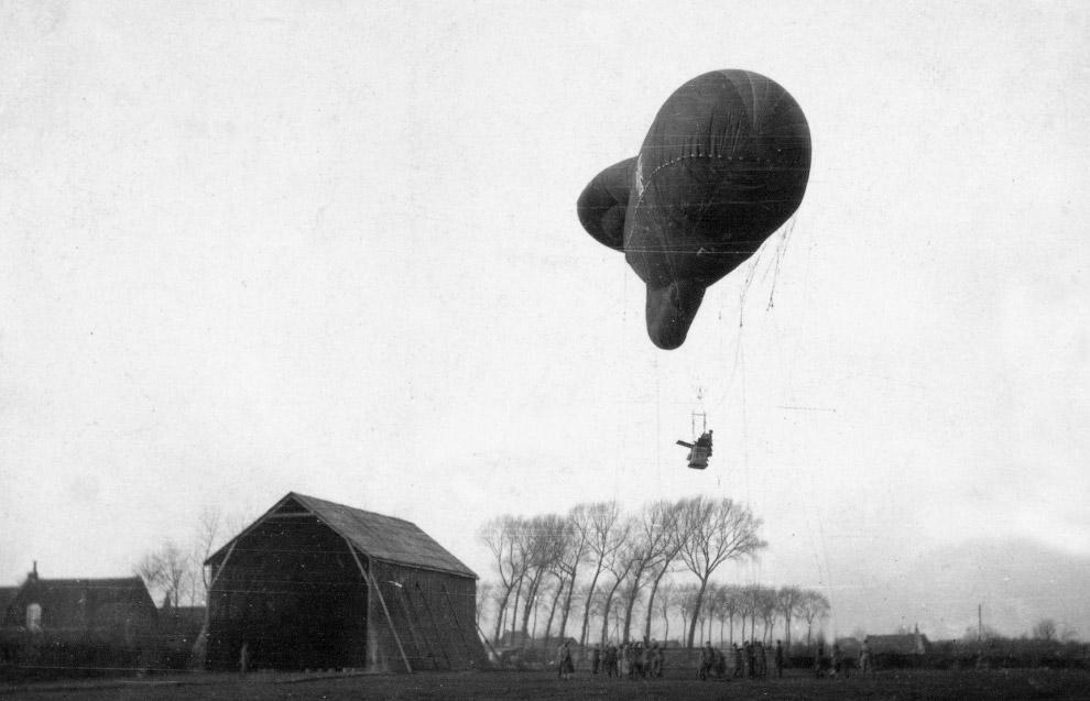 5. Захваченный немецкий моноплан Таубе. (Фото Bibliotheque nationale de France):