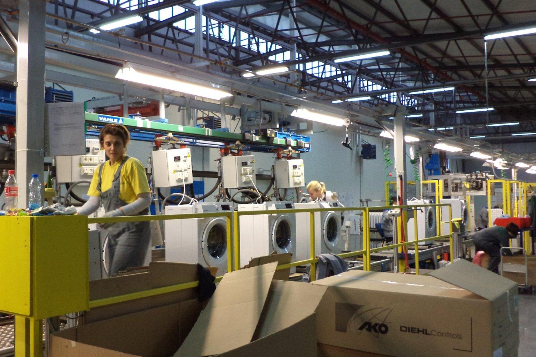 фабрика стиральных машин Gorenje