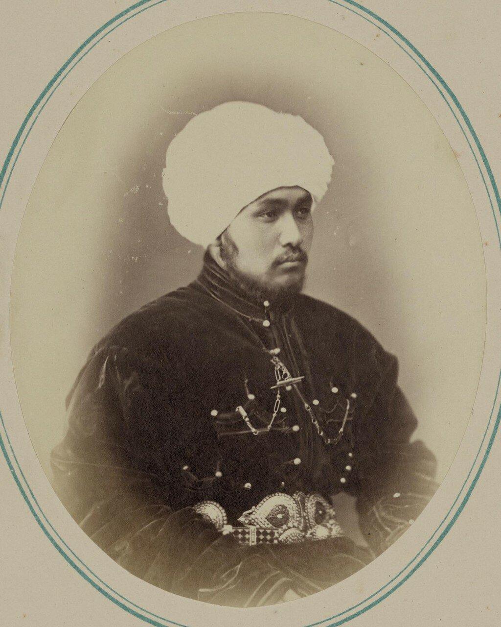 Кокандский хан и его сыновья. Сеид Мухамед Насреддин бек (старший сын кокандского хана)