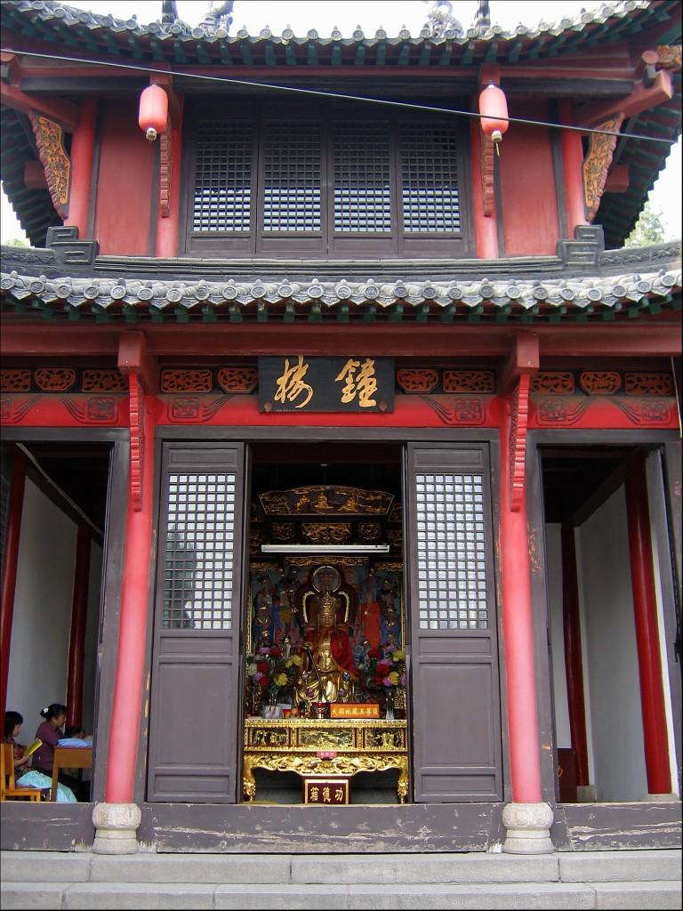 Один из храмов монастыря, монастырь Гуйюань, Ухань