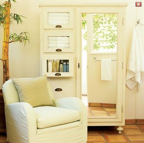 дачный домик ванная