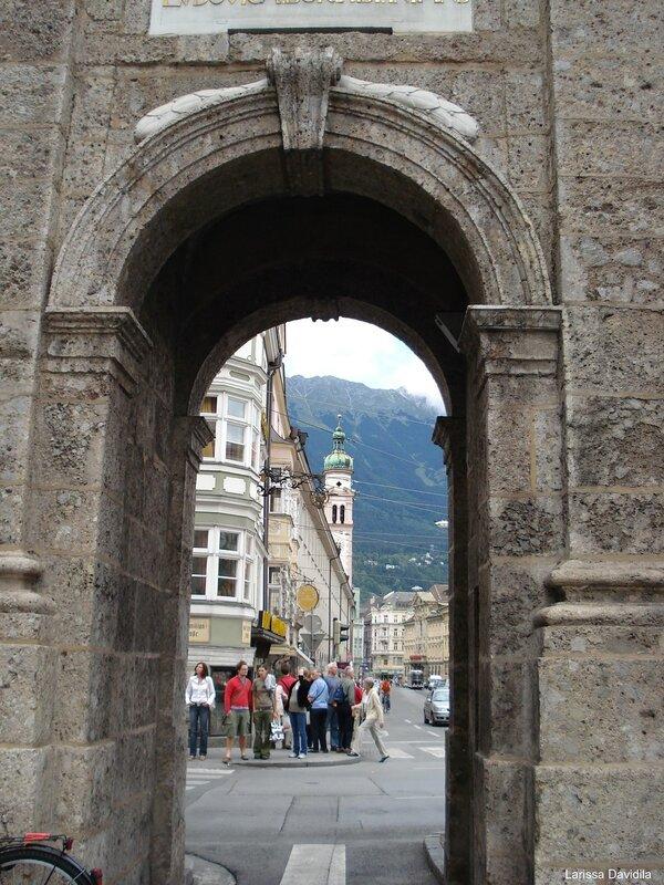 Innsbruck. Триумфальная колонна (3).