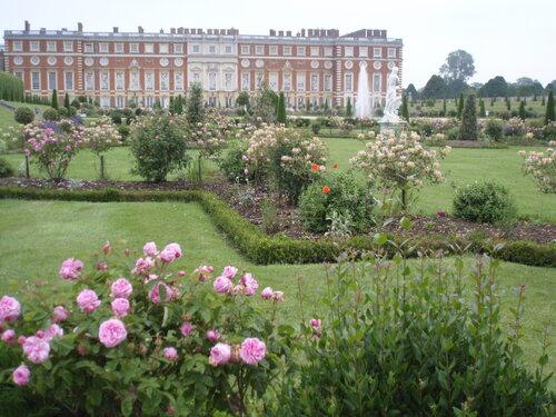 Privy Garden, Hampton Court