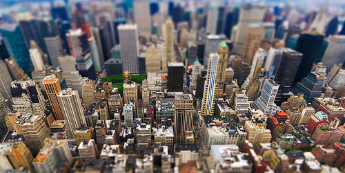 tilt-shift new york