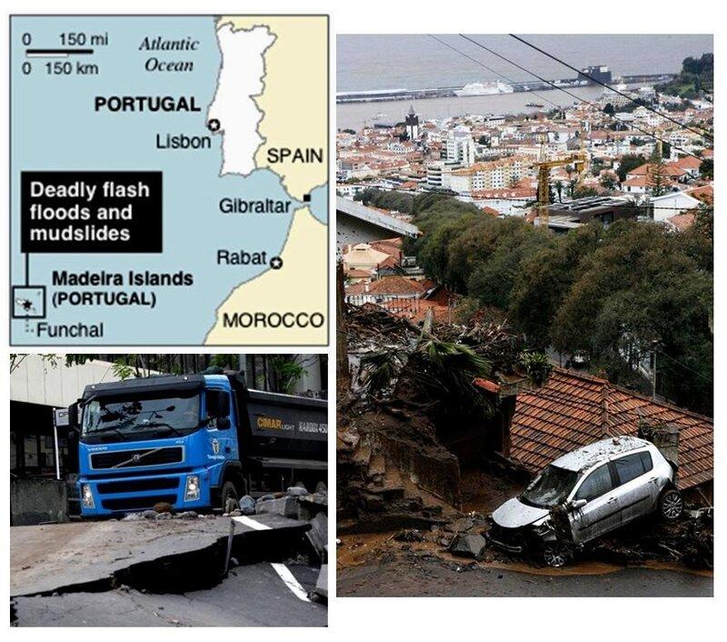 В Португалии объявлен траур по погибшим на Мадейре