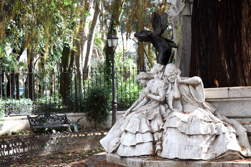В парке Марии-Луизы