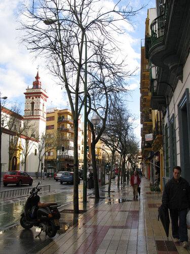 Умытая улица