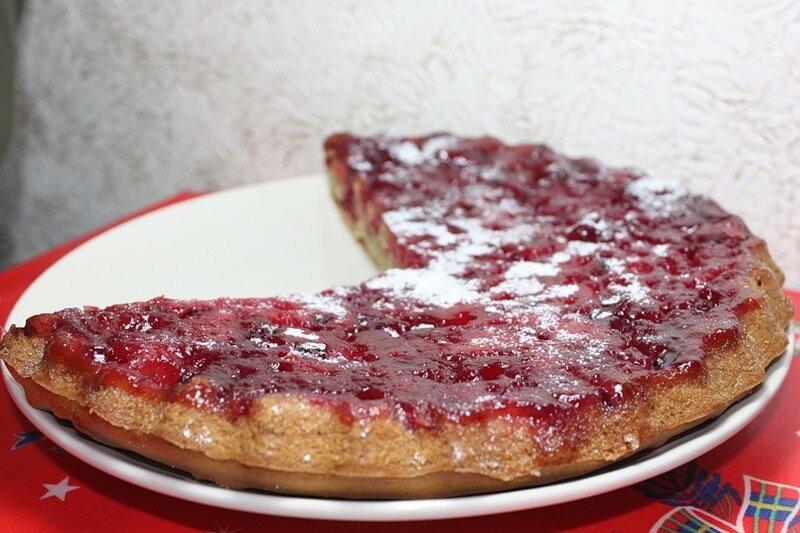 Открытый пирог мультиварке рецепты фото