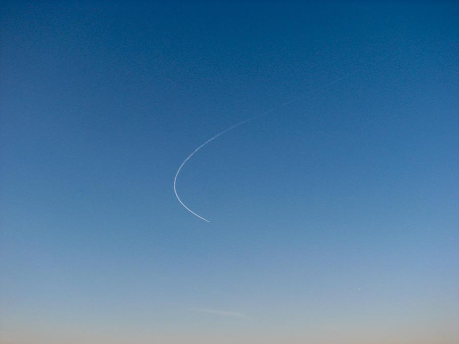 2010, вещи, зима, москва, небо, предметы, россия, самолёт