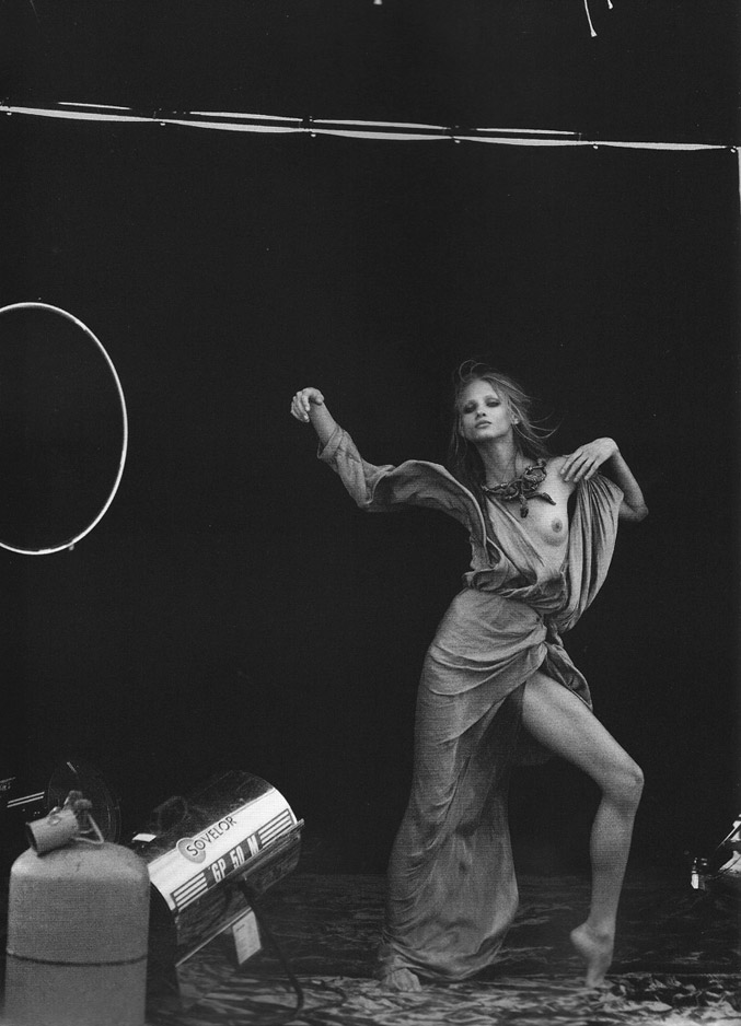 Анна Селезнева / Anna Selezneva by Peter Lindbergh for Numero #110