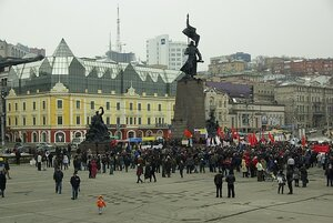 В Приморье узаконили правила проведения митингов и демонстраций