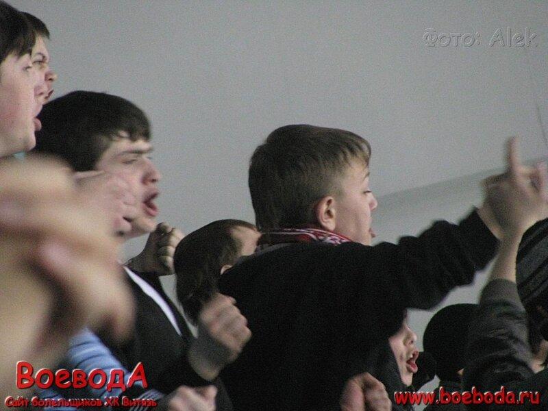 Фото с матча МХК Витязь (Подольск) - Газовик
