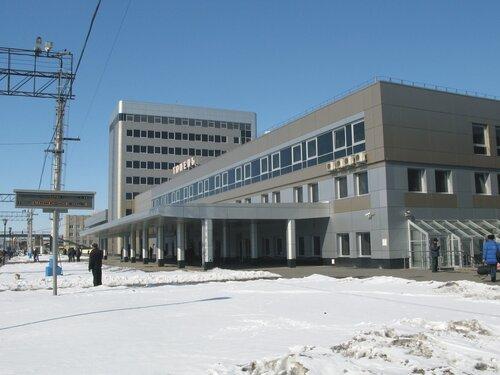 вокзал станции Тюмень