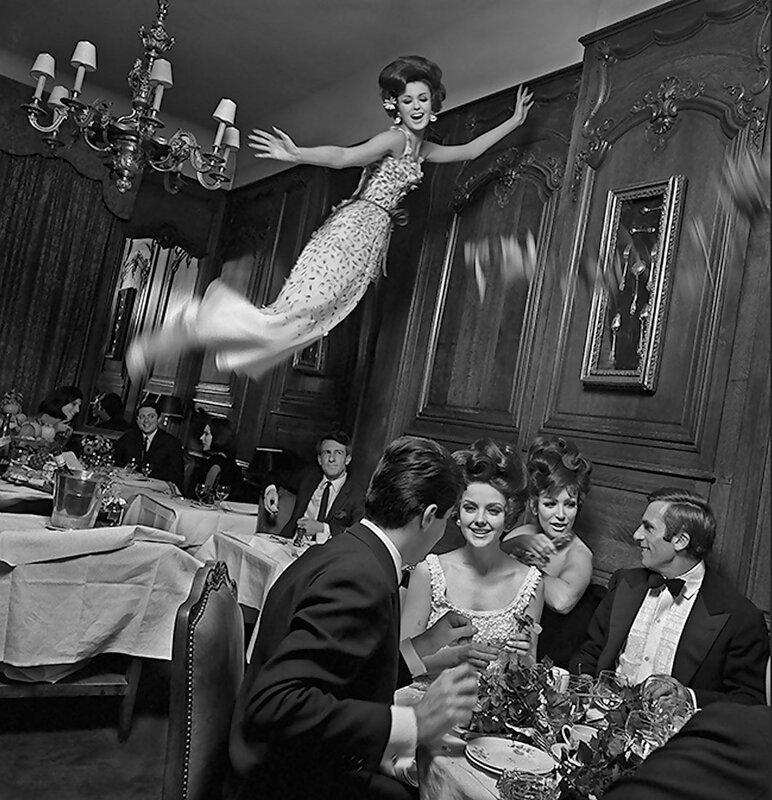 ретро фото,1963 Paris- Melvin Sokolsky