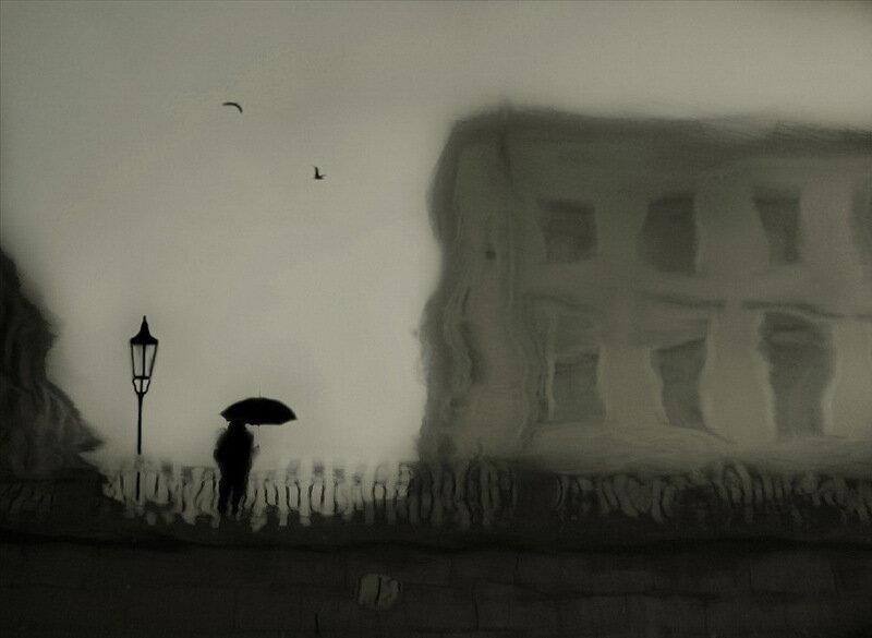 городские зарисовки Lora Palmer