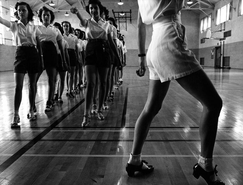 Школа танцев,Jack Delano