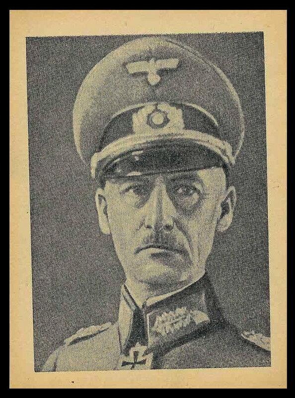 Генерал-фельдмаршал Вильгельм фон Лееб