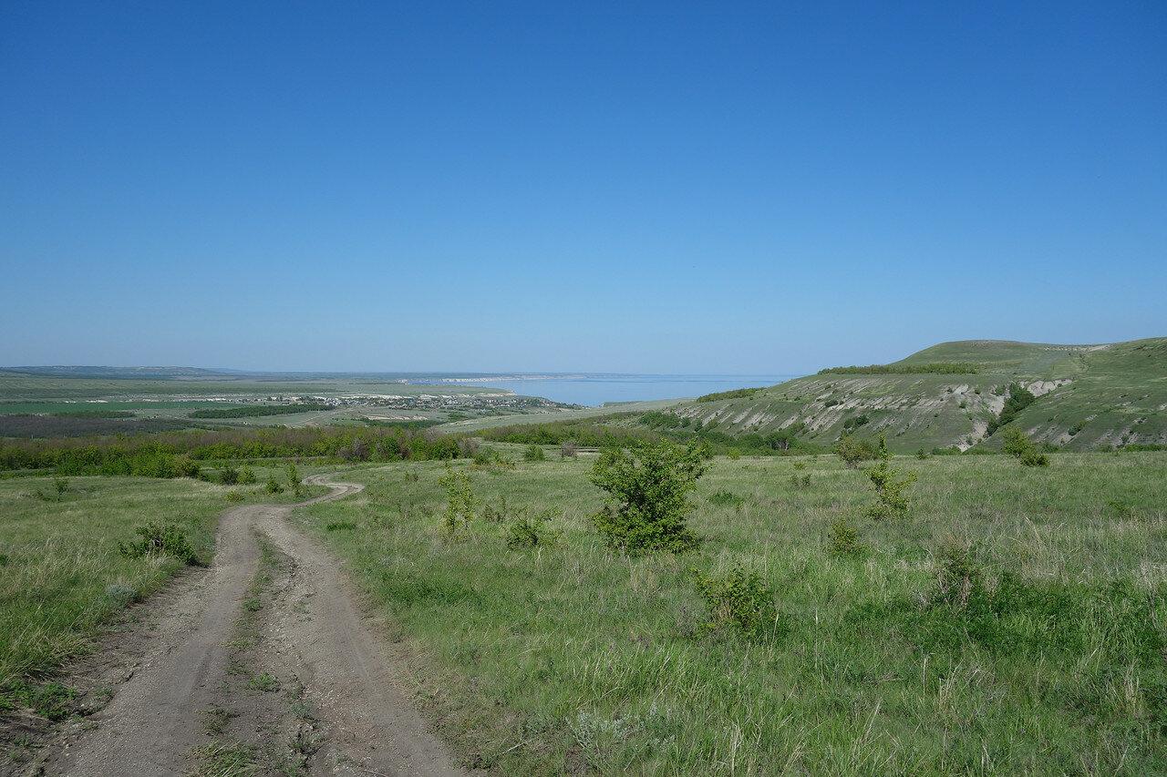 на подъеме от села Нижняя Банновка