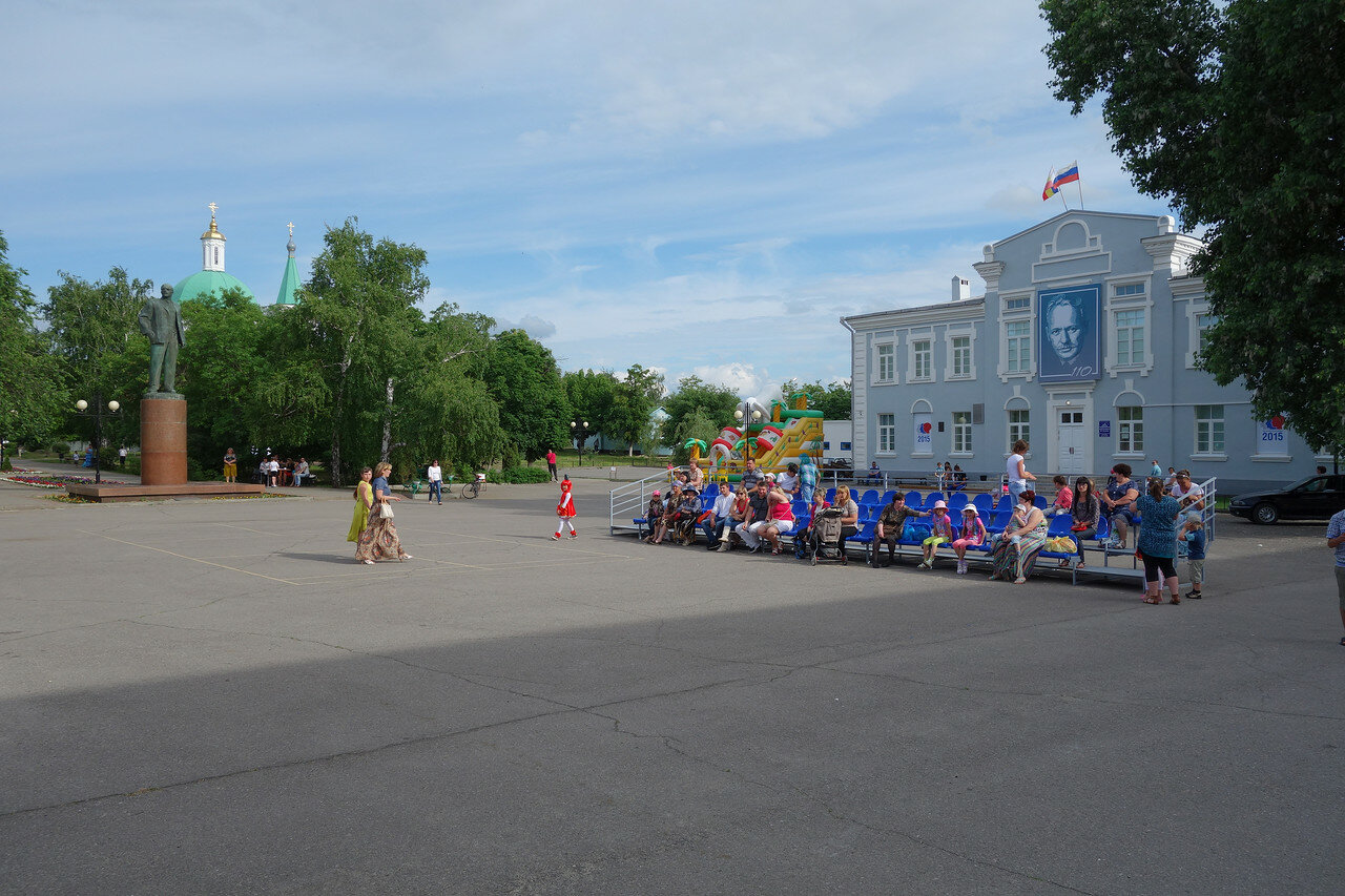 Ленин и музей Шолохова