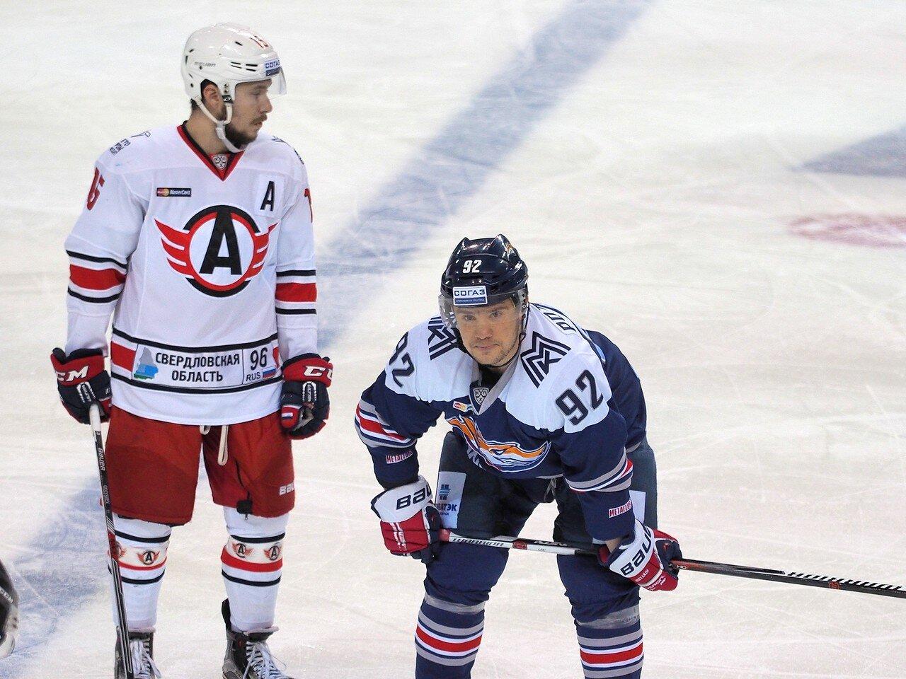 58Восток 1/4 плей-офф Металлург - Автомобилист 01.03.2016