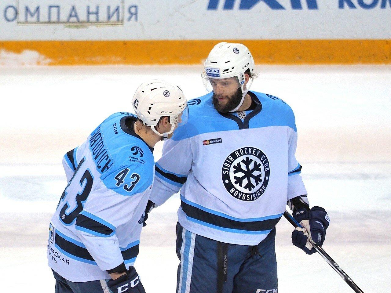 83Восток 1/2 плей-офф Металлург - Сибирь 08.03.2016