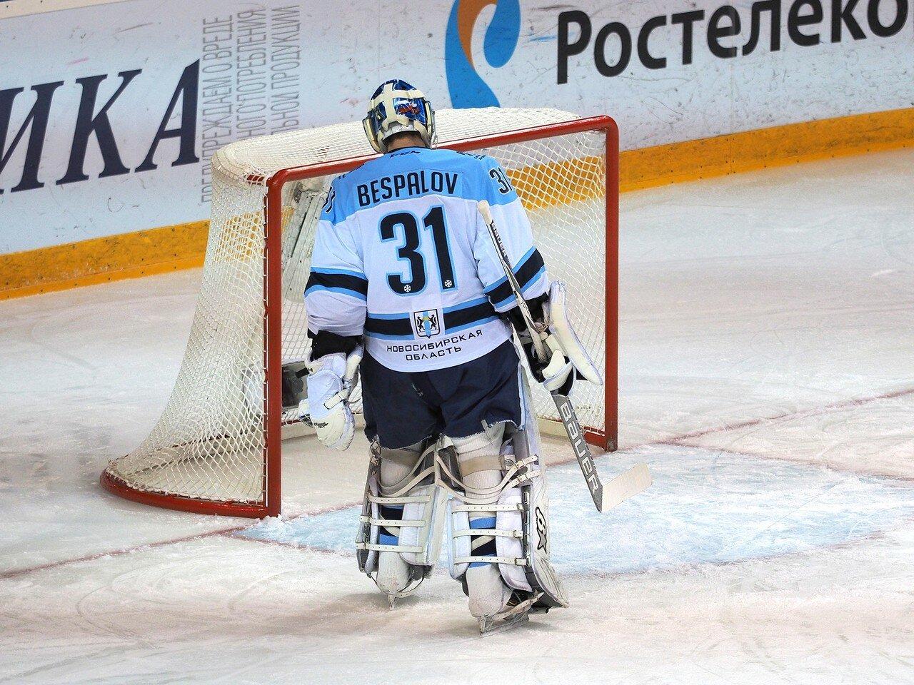 47Плей-офф 2016 Восток 1/2 Металлург - Сибирь 16.03.2016
