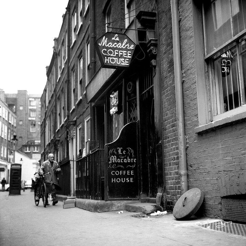 London Scenes - Soho - Le Macabre - 1966
