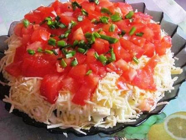 салат синьор помидор рецепт с фото