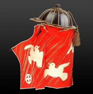 Шлем самурая-пожарного