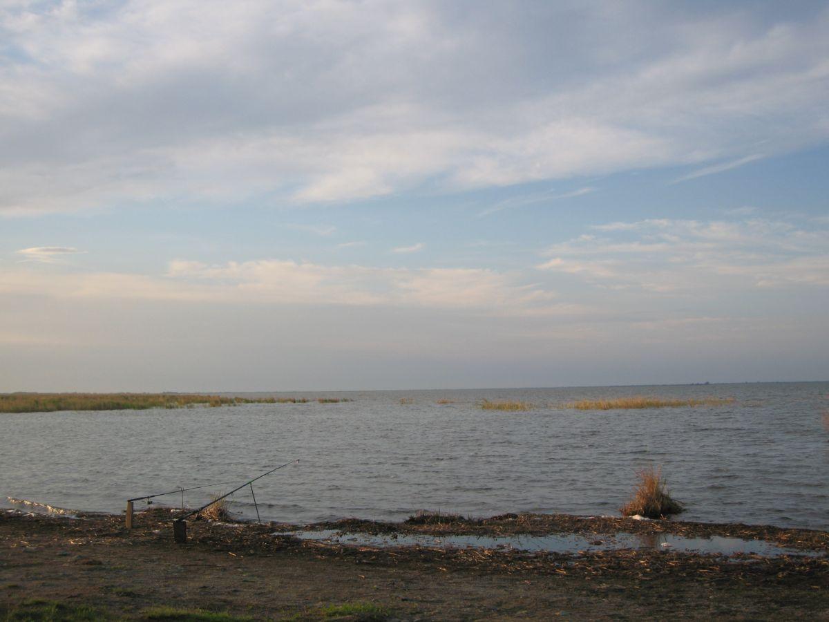 Берег озера Айдыкуль (30.08.2015)