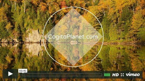 Америка: Горный хребет Адирондак осенью (видео)
