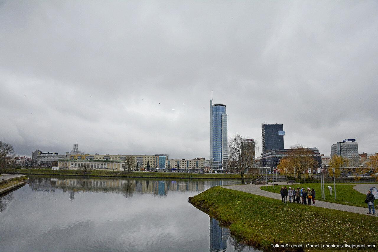 Осень в Минске