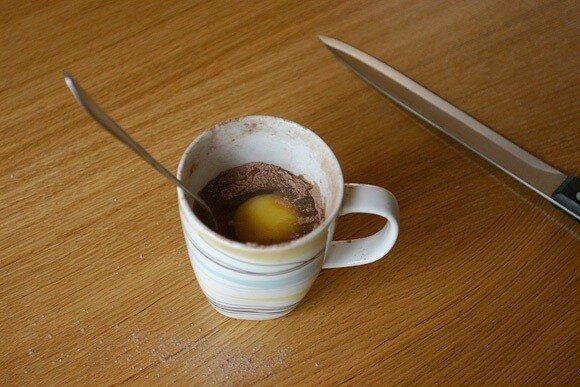 Пятиминутный шоколадный кекс. Самый быстрый вкусный рецепт с фото и видео