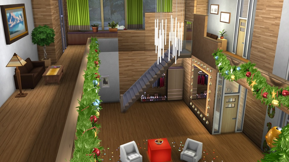 Christmas Chalet by Dolkin