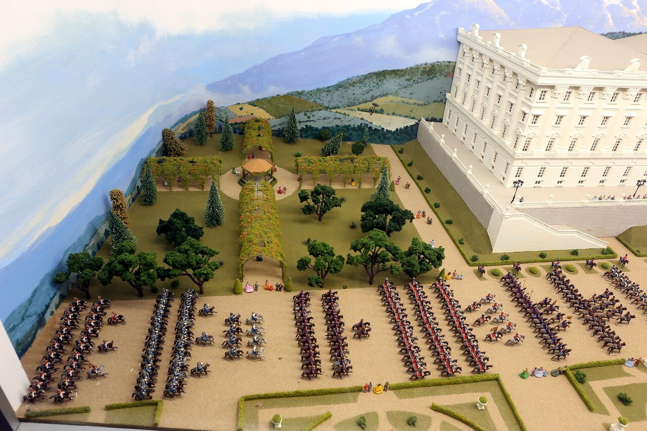 Хака. Музей военных миниатюр (Museo de Miniaturas Militares Ciudadela de Jaca)