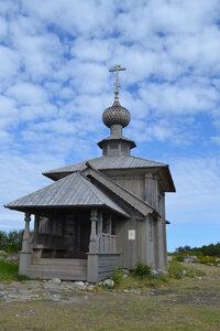 Заяцкий остров. Церковь св.апостола Андрея Первозванного.