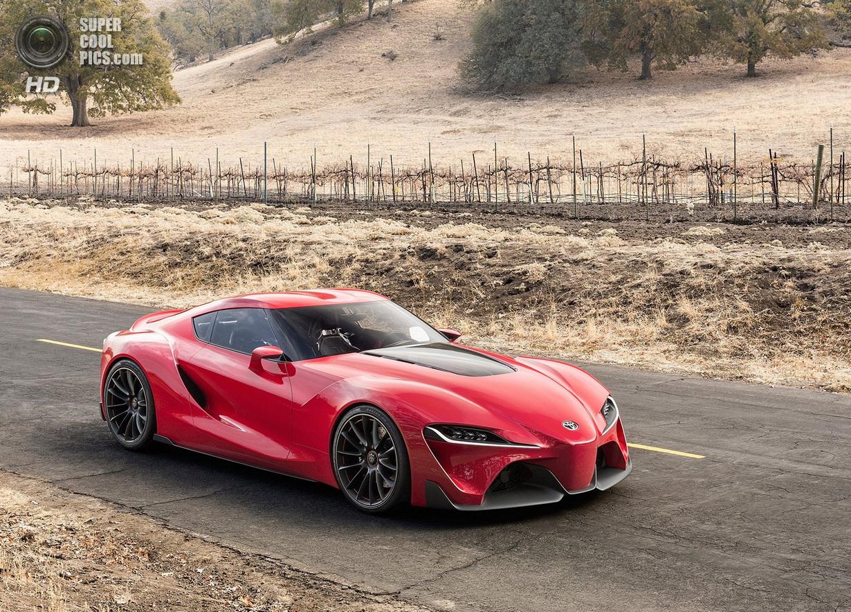 Toyota представила потрясающий FT-1 (41 фото)