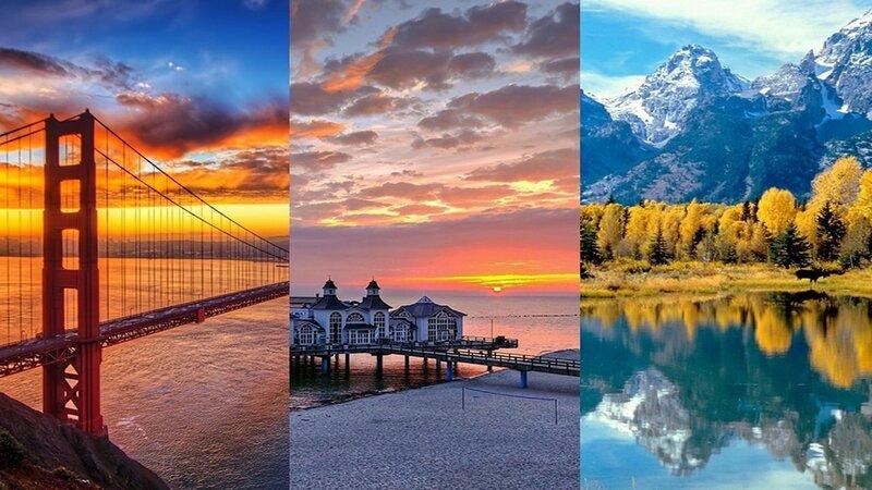 Самые красивые ландшафты Земли (большие фотографии)