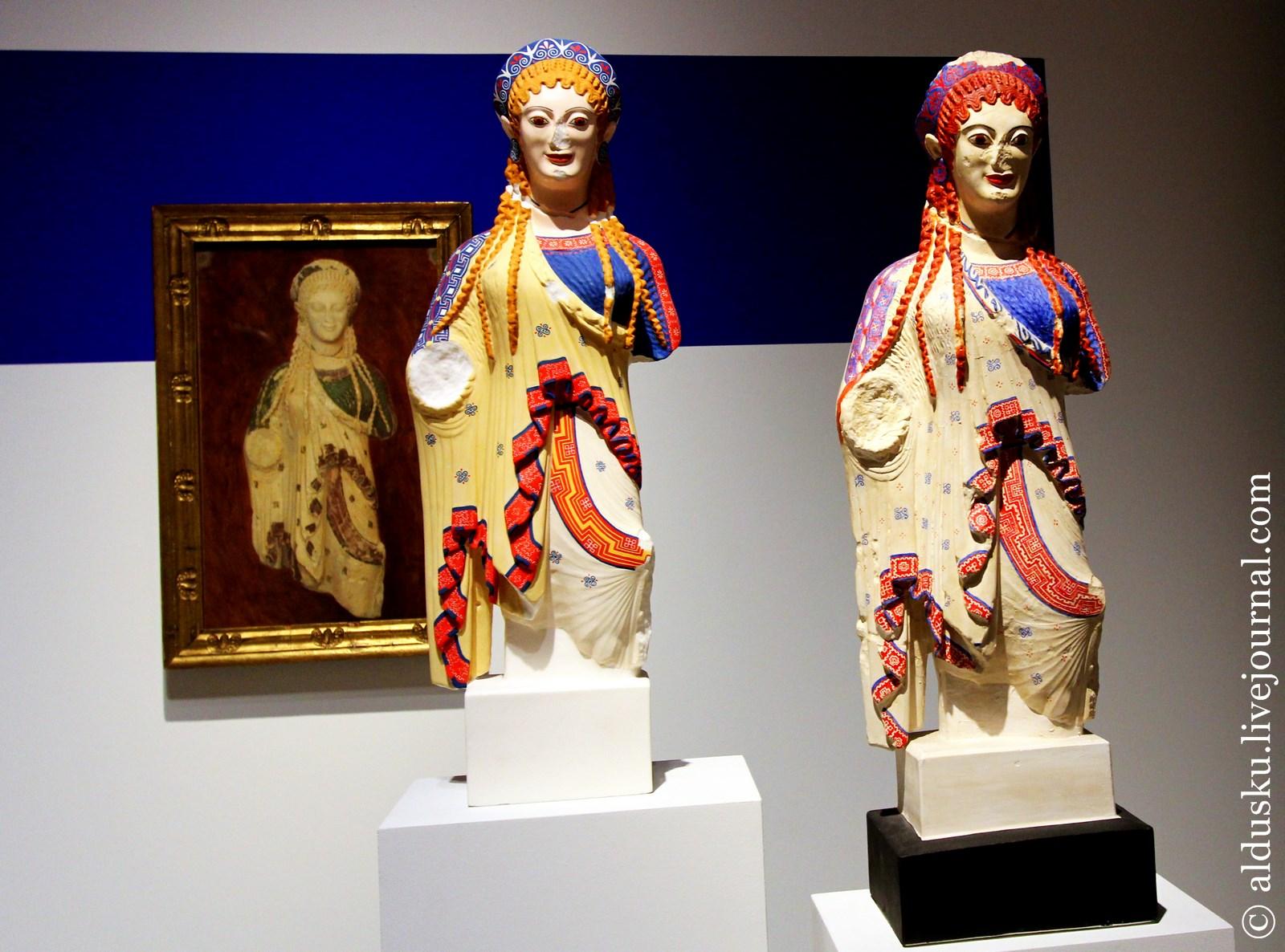 12. «Chiotissa», одна из статуй Коры с Афинского Акрополя