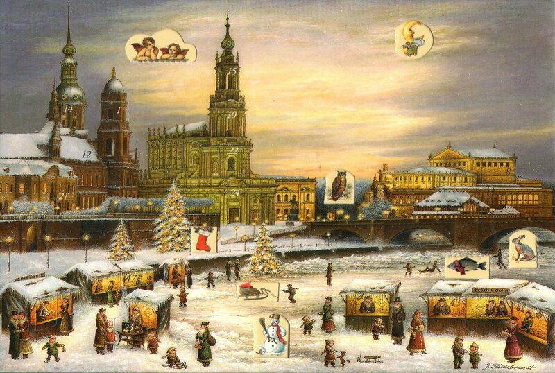 Рождество в Дрездене