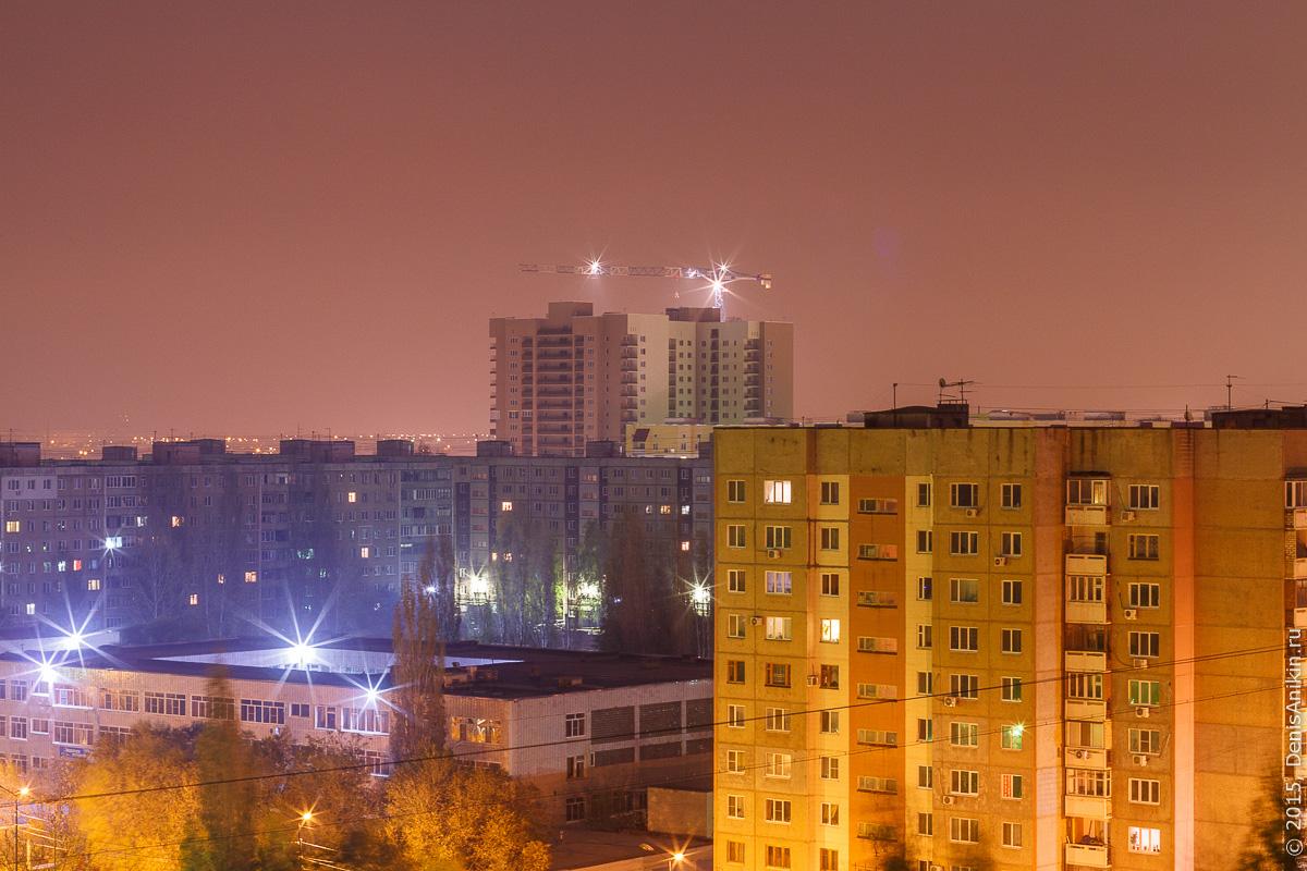 Солнечный ночью. Саратов 14