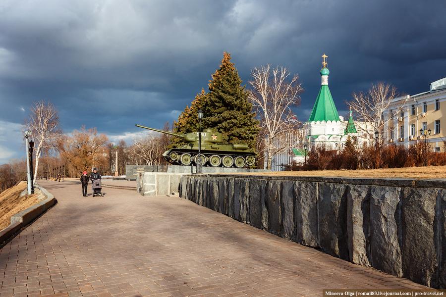 Кремль в Нижнем Новгороде