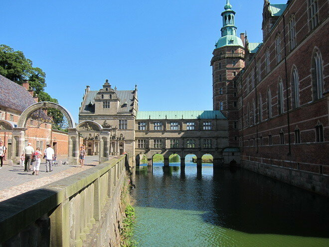 Дворец Фредериксборг. Дания