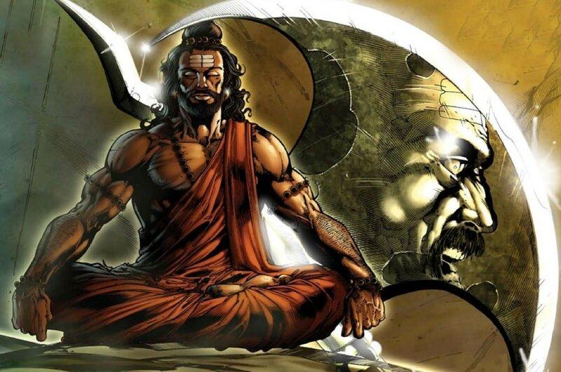 шестой аватар Вишну Парашурама