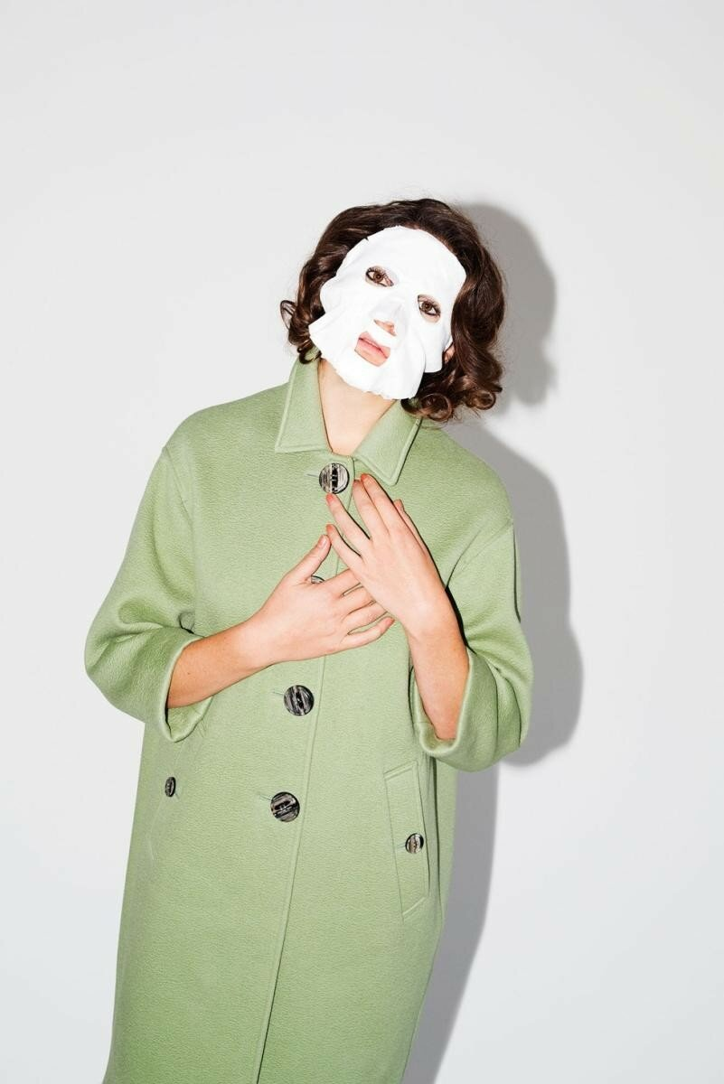 Стелла Шнабель в образе Эдит Скоб из фильма «Глаза без лица»